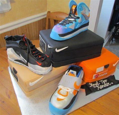 Multi Nike Sneaker Themed Cake Cake Of The Week