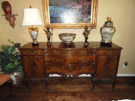 antique dining room set romweber chippendale 12 dining room suite mahogany for sale antiques classifieds