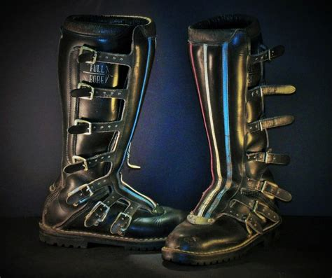italian motocross boots original authentic italian made vintage sidi full bore