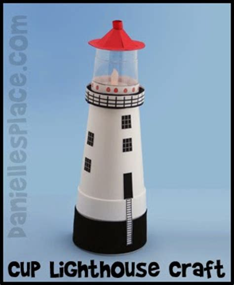 lighthouse craft project puddle wonderful learning diy cheap and easy lighthouse