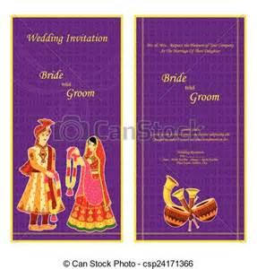 indian wedding cards vector design clip vector of indian wedding invitation card vector