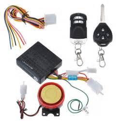 Suzuki Security Alarm System Motorcycle Bike Anti Theft Security Alarm System Remote