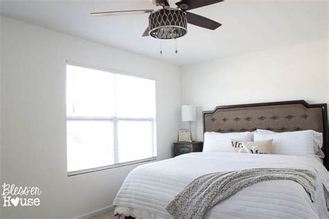 before after a builder grade bedroom goes cozy yahoo rustic modern master bedroom reveal and sources bless er