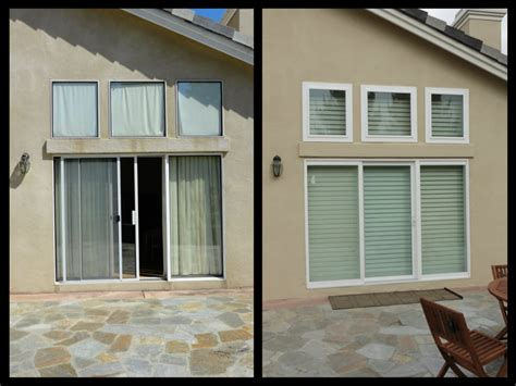 Retrofit Patio Door Priceless Retrofit Sliding Patio Door Before After Amerimax New Horizon Retrofit Sliding Patio