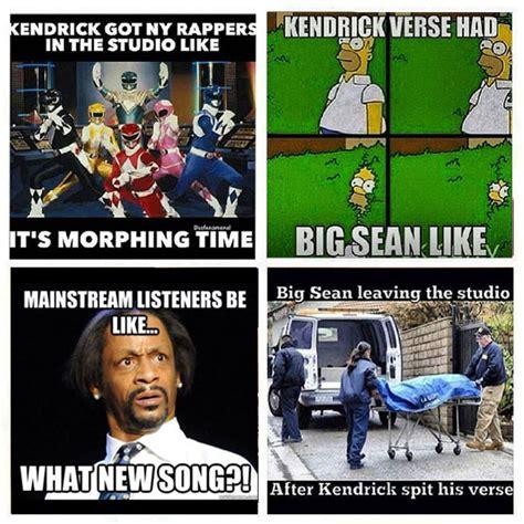 Funny Dissing Memes - big sean kendrick lamar meme0 memes