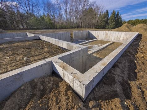 fundament haus the 4 types of foundation found in homes homeselfe