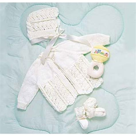 baby sets knitting patterns free baby layette set knit pattern
