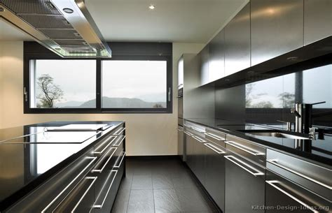kitchen cabinets stainless steel stainless steel kitchen cabinets with black granite
