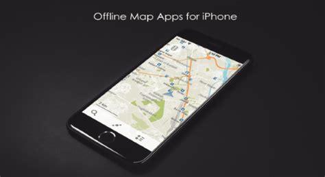 best offline maps app 5 best free offline map apps for iphone