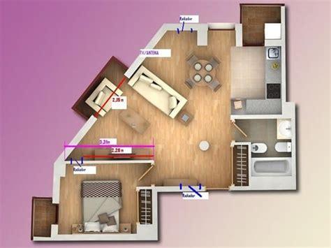 como decorar un salon triangular amueblar un sal 243 n triangular decoraci 243 n todoexpertos