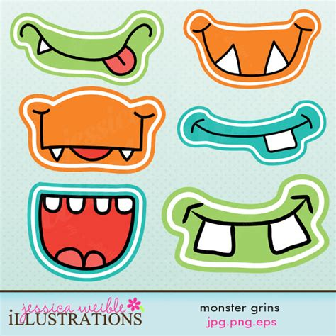 mosnter template 8 best images of printable templates printable