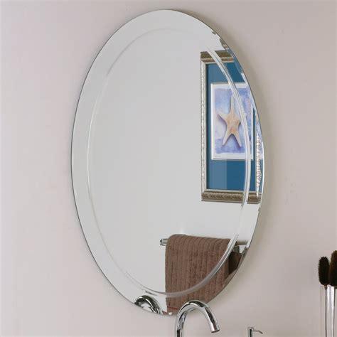 decor wonderland frameless aldo wall mirror lowes canada