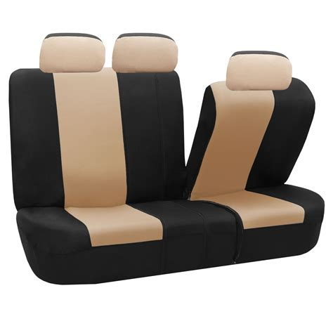 seat covers for split bench truck classic khaki full set car seat covers air bag safe