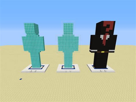 minecraft templates minecraft statue template related keywords minecraft