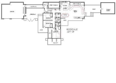 Split Level Floor Plan by Floor Plans For Split Level Homes House Plans Amp Home Designs