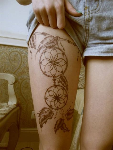 50 leg tattoo design for women