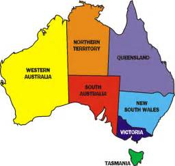 a map of australia for clipart best