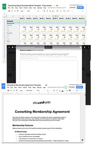 Coworking Membership Agreement Template New Work Cities Start A Coworking Space The Right Way With Our Help