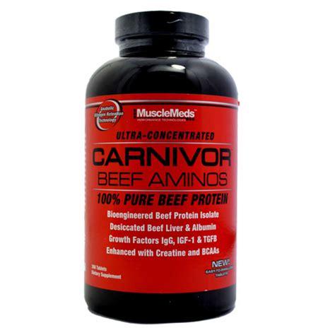 Amino Carnivor Beef 300 Tabs musclemeds carnivor beef amino 300 tabs osborn