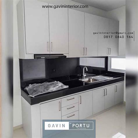 project design kitchen set minimalis  discovery aluvia
