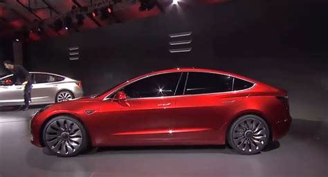 Range Tesla Tesla Unveils 35k Model 3 Electric Car For The Masses