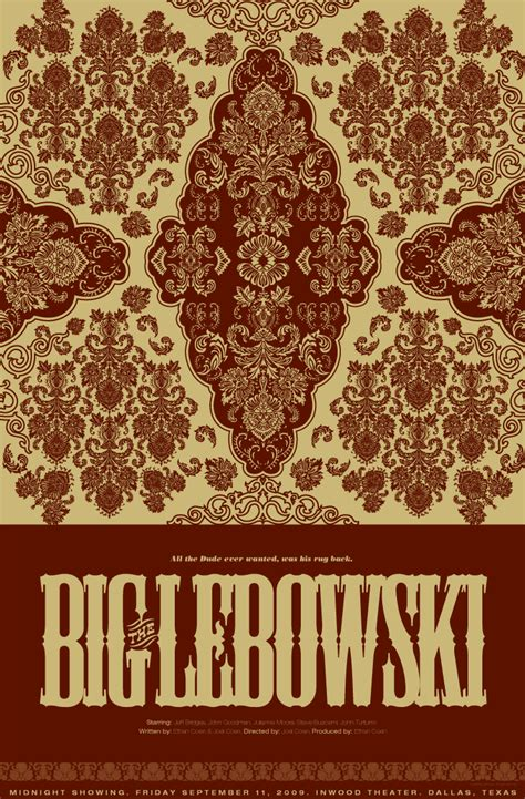 lebowski rug for sale the big lebowski sozadesigns