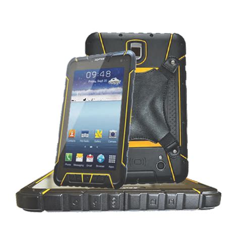 Rugged Barcode Scanner by Android Industrial Tablet Ip67 With Built In Barcode