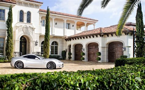 luxury home stuff mansion and ferrari wallpapers mansion and ferrari