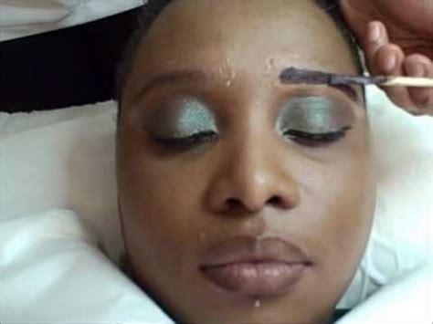 black women eyebrow eyebrow tint wmv youtube