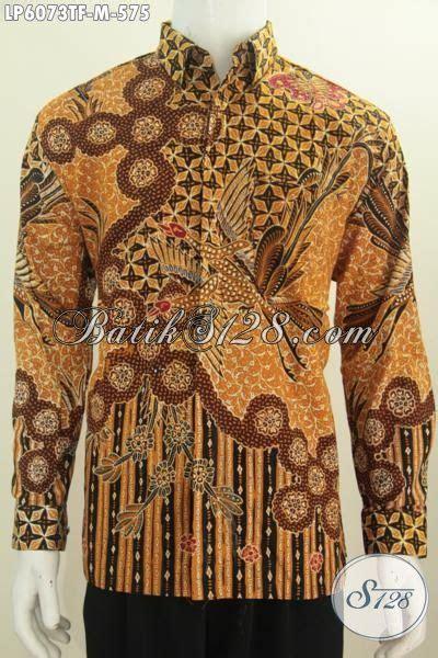 Hem Batik Lengan Panjang Motif Klasik Jogjaan Hem Batik Klasik Premium Model Lengan Panjang Baju Batik