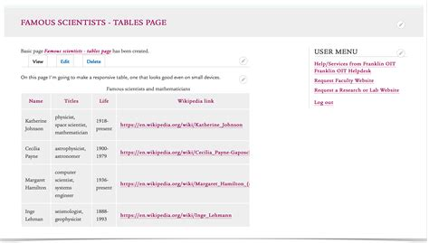 drupal theme table add class to row drupal 8 adding tables and making them responsive