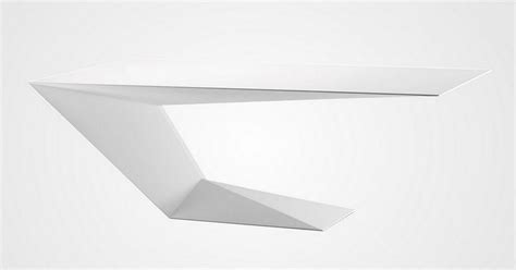 furtif desk is a striking futuristic piece of furniture furtif desk by daniel rode for roche bobois design is this