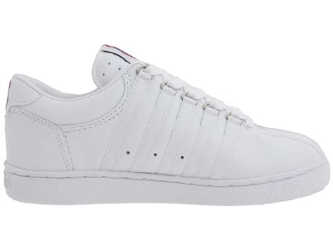 k swiss classic leather tennis shoe big kid