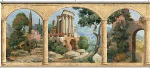 Tuscany Wall Murals Stone Arches Tuscany Wall Mural
