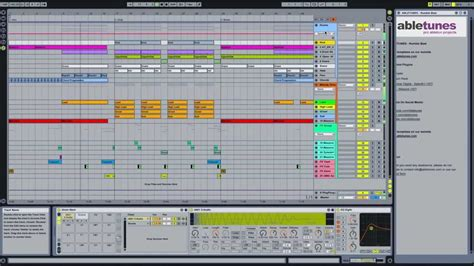 Dubstep Ableton Live Template Rumble Beat By Abletunes Youtube Ableton Dubstep Template