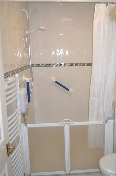 Shower Ideas For Small Bathrooms Disabled Adaptations By Building Contractor Simon Bailey