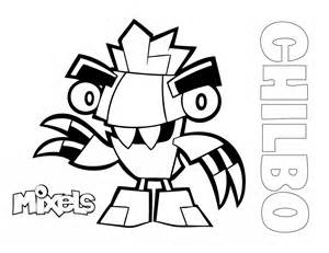 mixels coloring pages mixels coloring page chilbo eric s activity pages