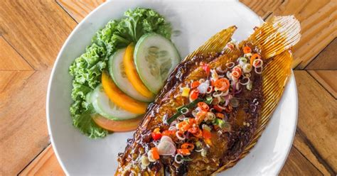 resep ikan gurame bakar madu sambal dabu dabu istimewa