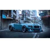 Bentley Continental GT Blue Supercar Wallpaper  Cars