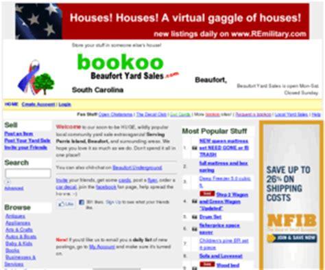 bookoo garage sales beaufortyardsales beaufort bookoo yard sales and