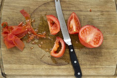 how to remove the skin and seed from tomatoes living a life in colour
