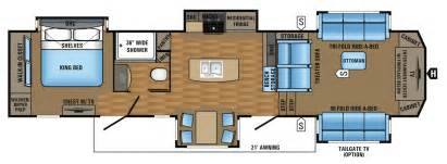 5th wheel floor plans 2017 pinnacle luxury fifth wheel floorplans prices jayco inc