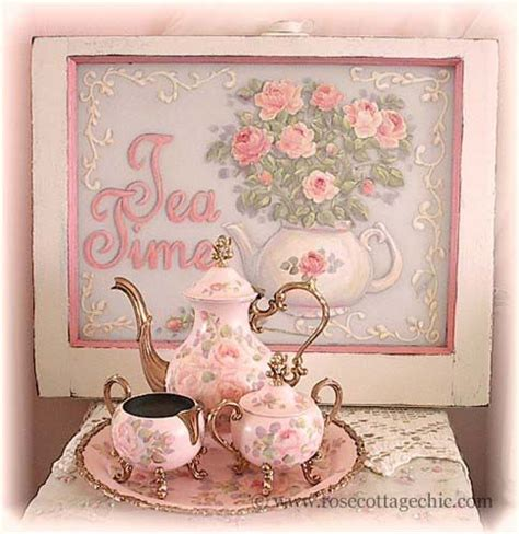 shabby chic tea shabby chic tea time shabby chic