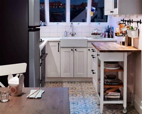ways  open small kitchens space saving ideas  ikea