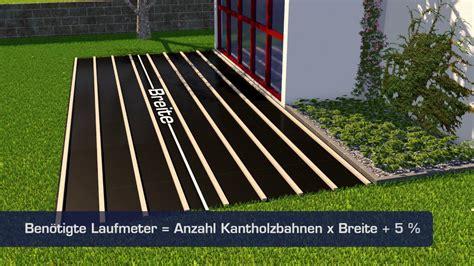 Verlegen Terrassendielen by So Einfach Geht S Terrassendielen Verlegen