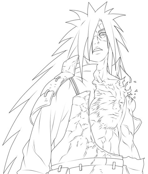 obito coloring pages coloring home