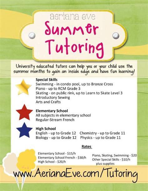 tutor flyer templates tutor flyer google da ara tutoring tutoring flyer