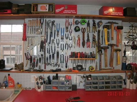 Garage Workbench Designs best 25 pegboard garage ideas on pinterest garage tool