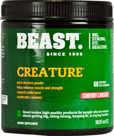 b creature creatine reviews creature creatine lable
