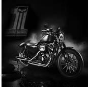 Harley Davidson Dark Custom  IPad Retina Wallpaper For